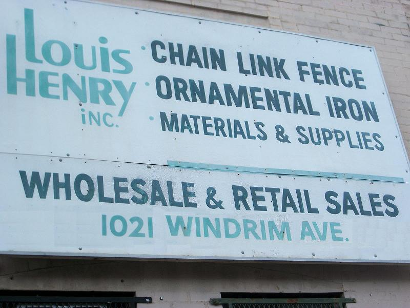 Henry Ornamental Iron And Chain Link Fence Supply